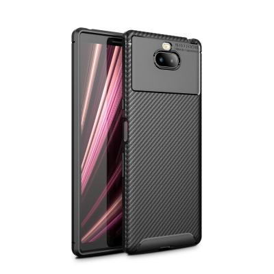 Full Carbon Mobilskal till Sony Xperia 10 Plus - Svart