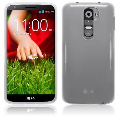 FlexiCase Skal till LG G2 (Clear)