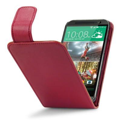 Flipfodral till HTC One M8 - Röd