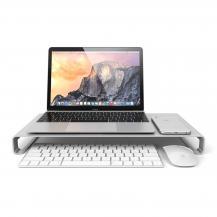 SatechiSatechi Aluminum Slim Monitor Stand - Silver
