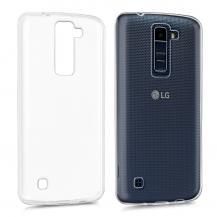 A-One BrandTPU Mobilskal till LG K8 - Transparent