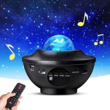A-One BrandLED Galaxy Light - Nattlampa - inbyggd Bluetooth Högtalare