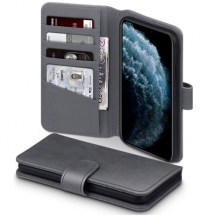 TerrapinTerrapin | Äkta Läder Plånboksfodral iPhone 12 Pro Max - Grå