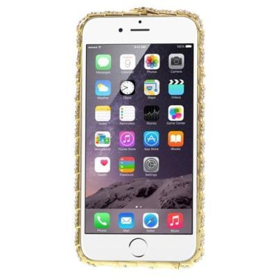 Snake Head Bumper till iPhone 6 / 6S - Guld