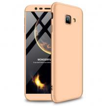 GKKGKK Detachable Skal till Samsung Galaxy J4 Plus - Gold
