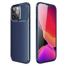 A-One BrandCarbon Fiber mobilskal till Apple iPhone 13 Pro - Blå