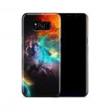 Skal till Samsung Galaxy S8 Plus - Rymden - Svart/Blå
