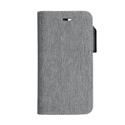 Onsala Collection Textil Plånboksfodral till iPhone XS / X - Grå