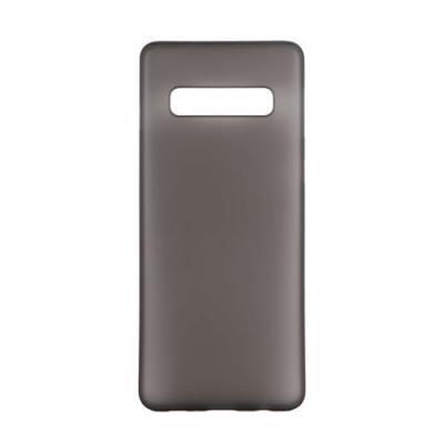 GEAR Mobilskal Ultraslim Semitransparent Samsung S10+ - Svart