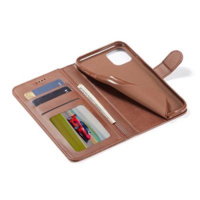 LC.IMEEKE Plånboksfodral för iPhone 11 - Brun