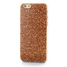 OEMBaksideSkal till Apple iPhone 6 / 6S - Orange Marmor Mönster