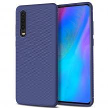 A-One BrandTwill Texture Flexicase Skal till Huawei P30 - Blå