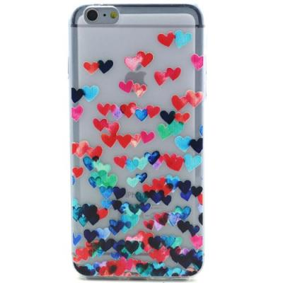 Flexicase Skal till Apple iPhone 6(S) Plus - Hjärtan