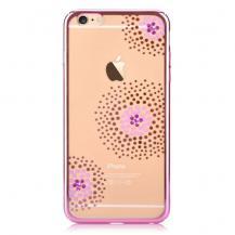 VouniVouni Kristall Sun flower Skal till iPhone 6 / 6S - Rosa