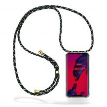 CoveredGear-NecklaceCoveredGear Necklace Case Huawei Mate 20 Pro - Green Camo Cord