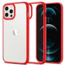 SpigenSPIGEN Ultra Hybrid mobilskal iPhone 12 & 12 Pro Röd
