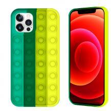 Fidget ToysPop it Fidget Multicolor Skal iPhone 11 - Mörk Grön
