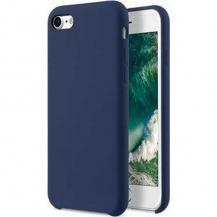 MelkcoMelkco Aqua Silicone Skal Apple iPhone 6/6S/7/8/SE 2020 - Dark Blå