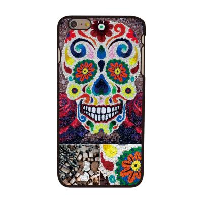 BaksideSkal till Apple iPhone 6(S) Plus - Flowered Skull