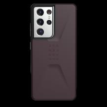 UAGUAG Samsung Galaxy S21 Ultra Civil-Fodral Aubergine
