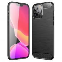 A-One BrandCarbon Fiber Texture Skal iPhone 13 Pro - Svart