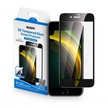 ESRESR Härdat Glas Screen Shield 3D iPhone 7/8/SE 2020 Black
