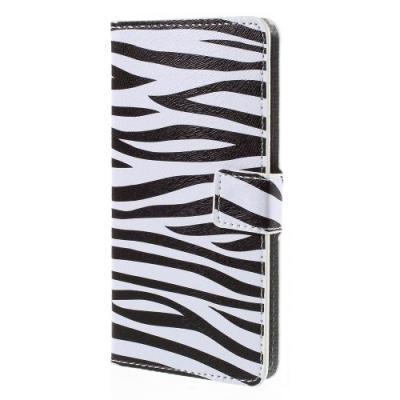 Plånboksfodral till ZTE Blade S6 - Zebra