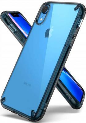 Ringke Fusion Shock Absorption Skal till iPhone XR - Svart