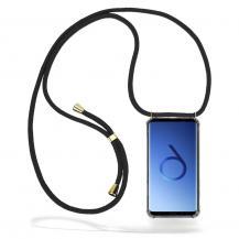 CoveredGear-NecklaceCoveredGear Necklace Case Samsung Galaxy S9 Plus - Black Cord