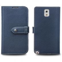 QIALINOQialino Exklusive Plånboksfodral till Samsung Galaxy Note 3 N9000 (Blå)