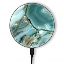 BabacoTrådlös laddare 10W Premiumglas Abstract 003