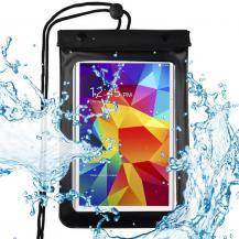 "HurtelUniversal Waterproof Pouch Dry Väska Phone or Tablet up8"" Svart"