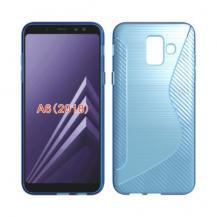 OEMFlexicase Mobilskal Till Samsung Galaxy A6 (2018) - Blå