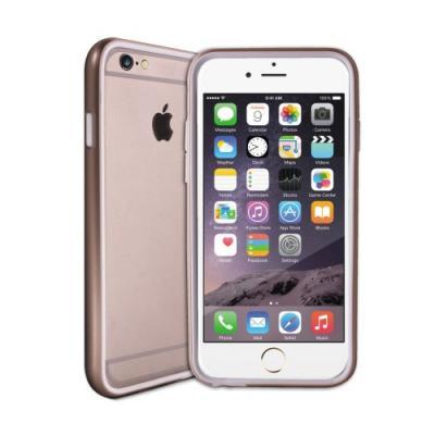 iPhone 6/6S Plus Metallic Bumper Cover - Guld