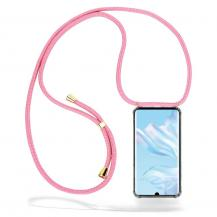 CoveredGear-NecklaceCoveredGear Necklace Case Huawei P30 Pro - Pink Cord