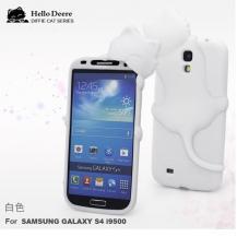 Hello DeereHello Deere Silikonskal till Samsung Galaxy S4 i9500 (Vit)