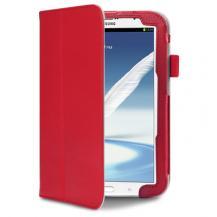 TerrapinStand flip väska med handgrepp till Samsung Galaxy Note 8,0 N5100 (Röd)