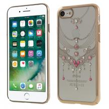 KavaroKavaro Skal med Swarovski stenar till iPhone 8/7 - Gold Butterfly