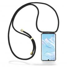 CoveredGear-NecklaceCoveredGear Necklace Case Huawei P30 Pro - Black Cord
