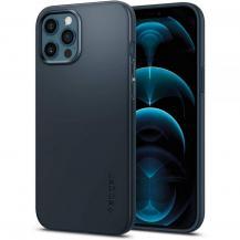 SpigenSPIGEN Thin Fit mobilskal iPhone 12 Pro Max Metal Slate