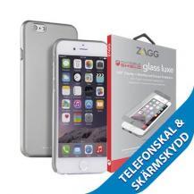 ZaggViva Madrid Viso cover + Luxe Screen till iPhone 6/6S - Grå