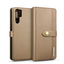 DG.MINGDG.Ming Plånboksfodral till Huawei P30 Pro - Brun