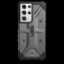 UAGUAG Samsung Galaxy S21 Ultra Pathfinder-Fodral Silver