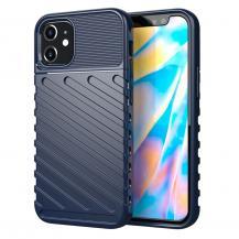 OEMThunder Twill Texture Skal iPhone 12 Mini - Blå