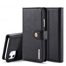 DG.MINGDG.MING 2-in-1 Plånboksfodral för iPhone 11 - Svart