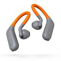 ThomsonTHOMSON Hörlur In-Ear Sport TWS Bluetooth Grå/Orange