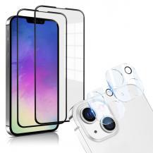 A-One BrandiPhone 13 [4-PACK] 2 X Linsskydd Glas + 2 X Härdat Glas