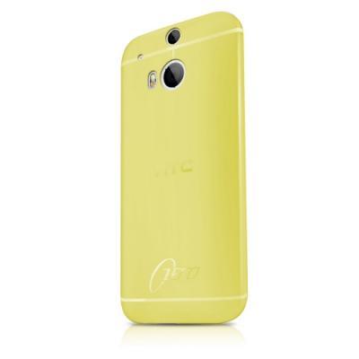 ITSkins Zero 3 Skal till HTC One M8 (Gul) + Skärmskydd