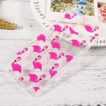 OEMMobilskal Samsung Galaxy S8 - Flamingos
