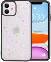 A-One BrandBling Star Glitter Skal till iPhone 11 - Svart
